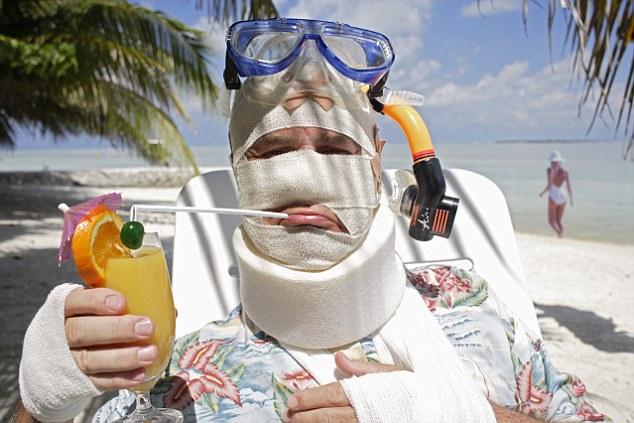 Ziek tijdens vakantie, hoe zit dat?